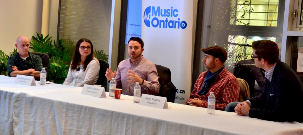 Musicians learn from the pros at the Music Ontario Seminar