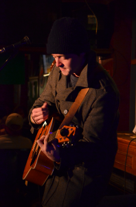 Open mic at Ein-Stein's Cafe and Pub - James Gilbert