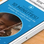 Put Down Your Phone For The UNICEF Tap Project