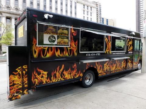 Street Eats With Three New Toronto Food Trucks Fresh Print
